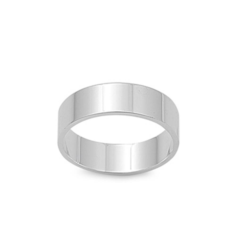 Sterling Silver Cigar Wedding Band 3MM Ring 3mm Choose Your Width