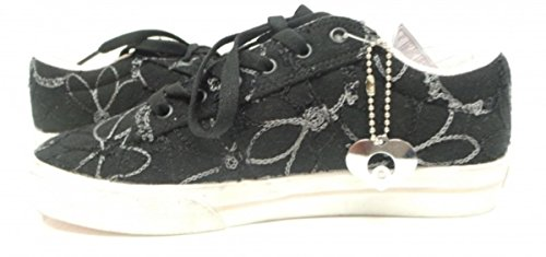 V Osiris Girls Black Serve Shoes Embroidered Skate qawravt