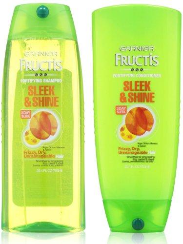 Garnier Fructis Sleek Shampoo Conditioner product image