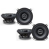 Alpine SPS-510 5-1/4 Coaxial 2-Way Speaker Set Bundle
