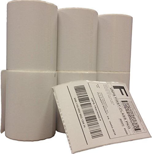 Dymo 4xl labels 1744907 compatible 6 rolls pack 4x6 for Dymo 4x6 label printer