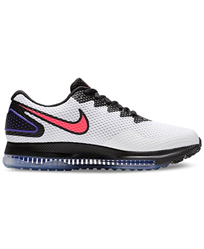 blac White Solar Low de W Running 101 Multicolore Chaussures Red 2 NIKE Compétition Femme All Out Zoom wZnFpS