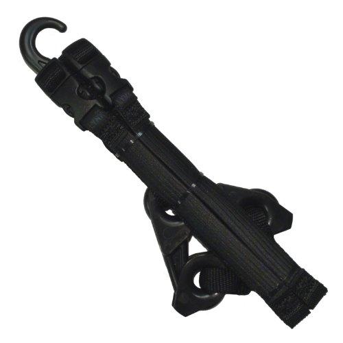 LYNX Hooks® Tactical Black Adjustable, Interlocking Gear Straps