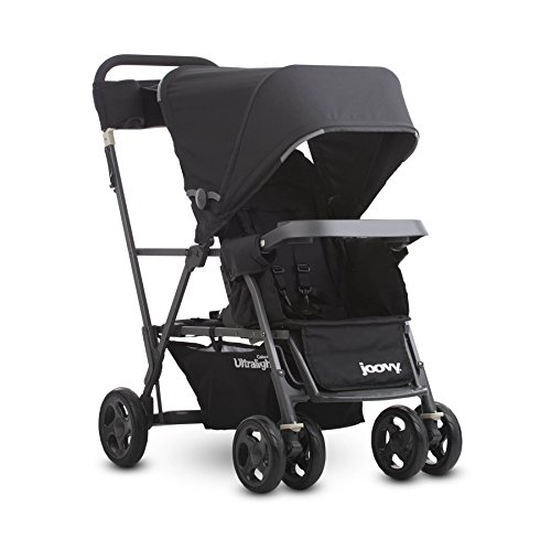 Joovy Caboose Ultralight Graphite Stroller, Black - Major Mini