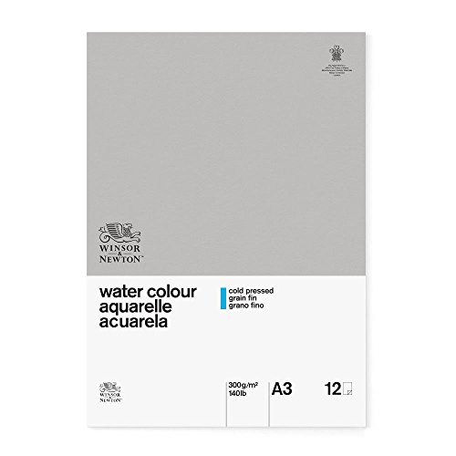 Winsor & Newton Classic A3 Cold Pressed Water Colour Paper Gummed Pads from Winsor & Newton