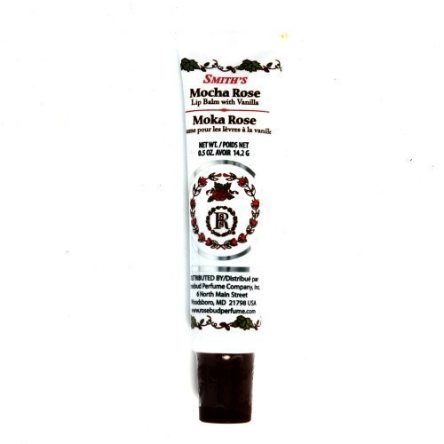 Rosebud Lip Balm Tube, Mocha Rose, .5 Ounce by Rosebud