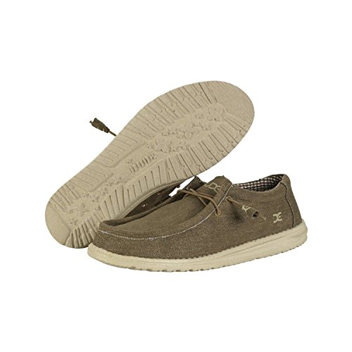 Hey Dude Mens Wally L Canvas Vegan Shoes
