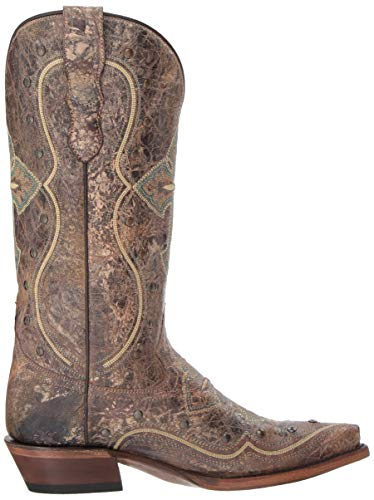 Western Boot US Roper M Pure Brown Women's Snxqnw7pRE