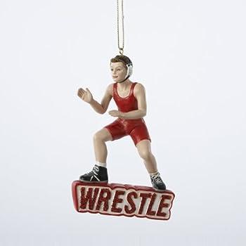 Amazon.com: WWE Wrestling Set of 10 Wrestler Holiday Christmas ...