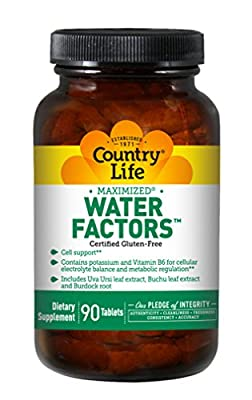 Country Life Water Factors, 90-Count