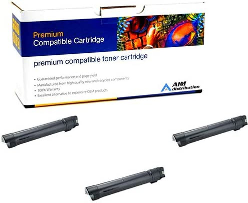 3BK7765 - Generic 3//PK-26000 Page Yield AIM Compatible Replacement for Dell C7765DN Black Toner Cartridge