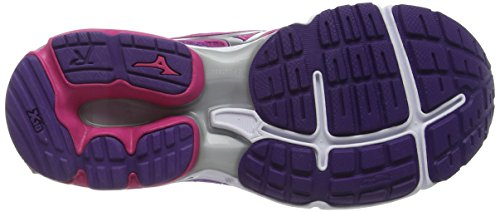 Running Royal Compétition Rider Chaussures Femme Purple Rose Fuchsia Pink Mizuno Purple de 19 Wave Silver qxwOTqXZC