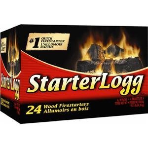 (Jarden Home Brands-firelog 41525-01001 Starterlogg Firestarter 24 Pack)