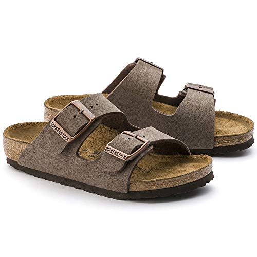 Birkenstock Arizona Birko-Flo Mocha Sandals - 26 M EU / 8-8.5 M US Toddler