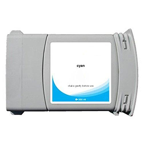 - 2x G&G Cyan Ink Cartridge Reman compatible with HP C4846A Designjet 1050C/1055CM ##80