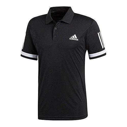 adidas Mens Tennis Club 3-Stripe Polo