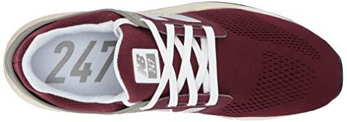 Burgundy Mg bone Balance Uomo 247v2 Rosso nb New Sneaker caRwPqzYY