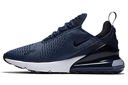 Nike Air Max 270 Mesh Running Sportschoenen Dk Blauw / Wit Ah8050 Sz 14