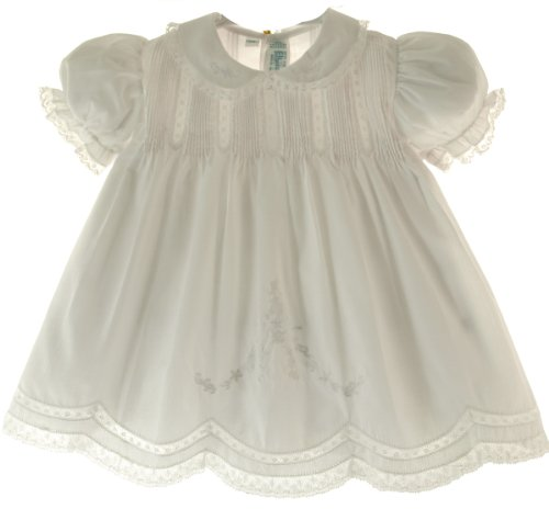 Feltman-Brothers-Baby-girls-Solid-Embroidered-Slip-Dress-with-Collar