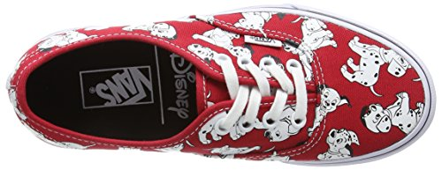 Authentic Vans Disney Dalmatians Authentic Red Disney Vans ggqr5xZw