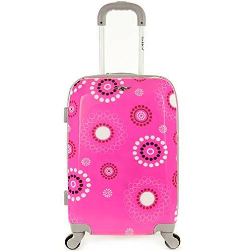rockland-luggage-20-inch-polycarbonate-carry-on-luggage-pink-pearl-one-size