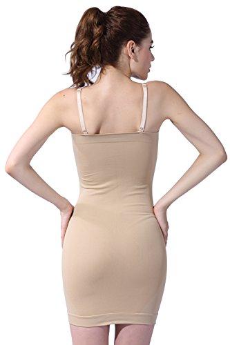 Franato - Vestido - Sin mangas - para mujer Beige