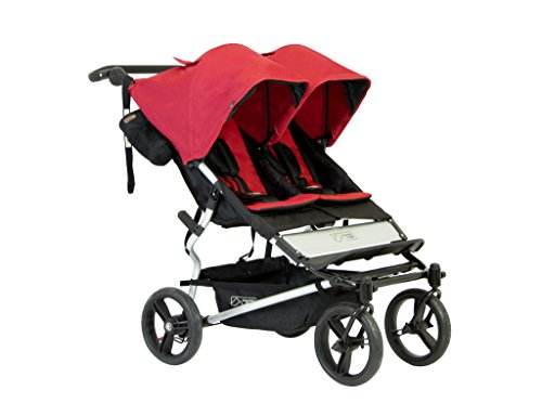 Mountain Buggy Duet 2016 Double Stroller, Chili