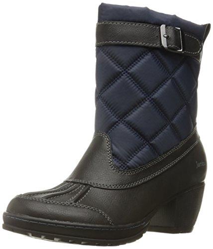 Jambu Women's Dover-Vegan Rain Boot - Navy/Black - 7.5 B(...