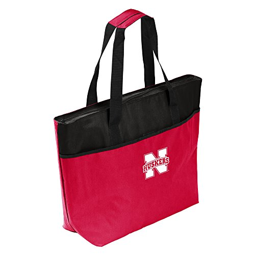 NCAA Nebraska One-Tripper Tote, One Size, Multicolor by Logo Brands
