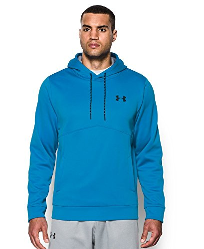 Under Armour Men's Storm Armour Fleece Hoodie, Brilliant Blue/Steel, Small