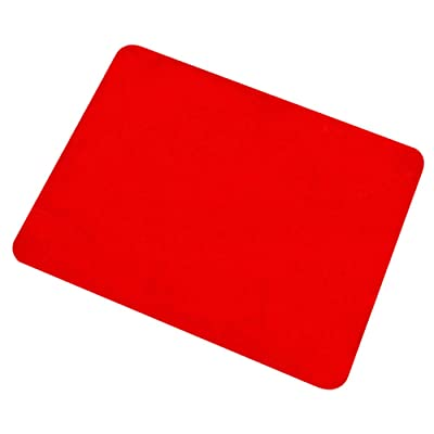 Berocia Professional Card Mat Poker Pad Magic Props, Close-up Pad with Thicked Exquisite Velvet Surface (Red 16.512.5 inch): Toys & Games