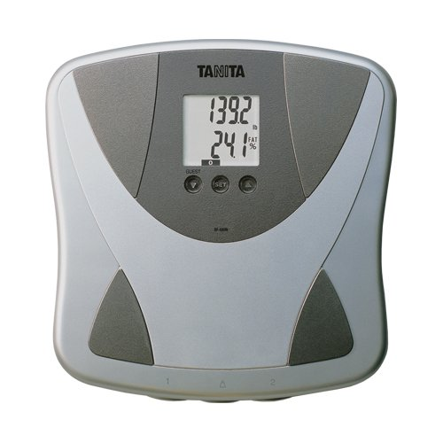 Tanita Body Composition Analyzer - Tanita BF680W Duo Scale Plus Body Fat Monitor with Athletic Mode and Body Water