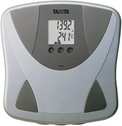 Body fat scales athlete setting