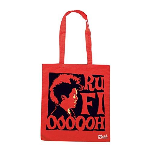 Borsa HOOK CAPITAN UNCINO RUFIOH FILM - Rossa - FILM by Mush Dress Your Style