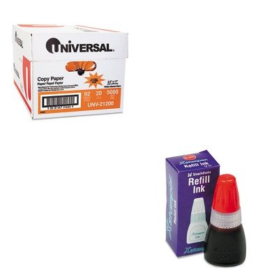 KITUNV21200XST22111 - Value Kit - Xstamper Refill Ink for Xstamper Stamps (XST22111) and Universal Copy Paper (UNV21200)