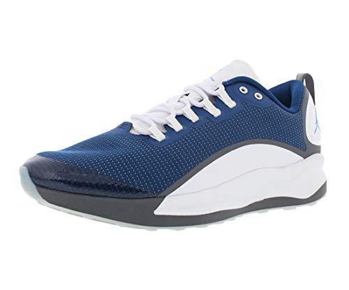 Jordan Mens Zoom Tenacity Low Top Lace Up Basketball Shoes, Blue, Size 10.5