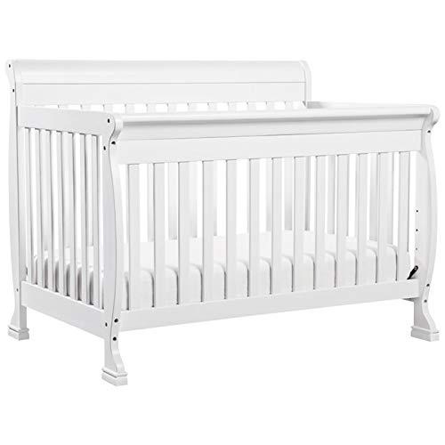 DaVinci Kalani 4-in-1 Convertible Crib in White   Greenguard Gold Certified (Sale Furniture Set Crib)