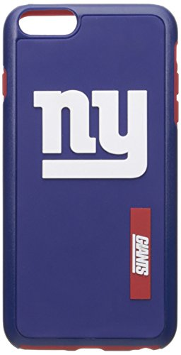 Forever Collectibles - Licensed NFL Cell Phone Case for Apple iPhone 6 Plus / 6s Plus - Retail Packaging - New York Giants
