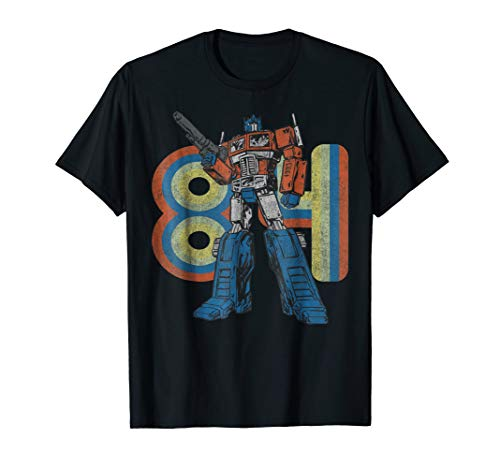 - Transformers Optimus Prime Retro 1984 T-Shirt