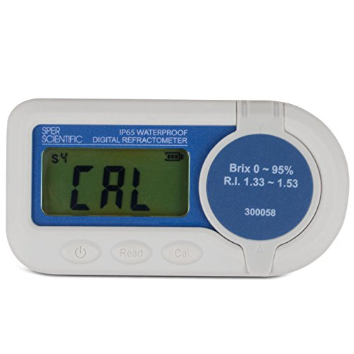 Sper Scientific Waterproof Digital Refractometer Brix