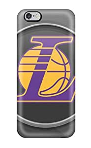 DuxkfVn1177tiodR Tpu Case Skin Protector For Iphone 6 Plus Los Angeles Lakers Nba Basketball (41) With Nice Appearance