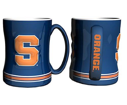 Syracuse Orange Coffee Mug - 15oz Sculpted