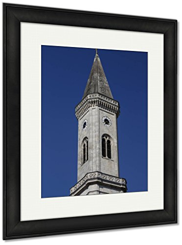 Ashley Framed Prints Catholic Parish And University Church Ludwigskirche In Munich G, Wall Art Home Decoration, Color, 30x26 (frame size), Black Frame, AG6544606 by Ashley Framed Prints