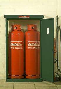 Gas Bottle Storage (Stores 2 x 47kg bottles) Propane gas ...