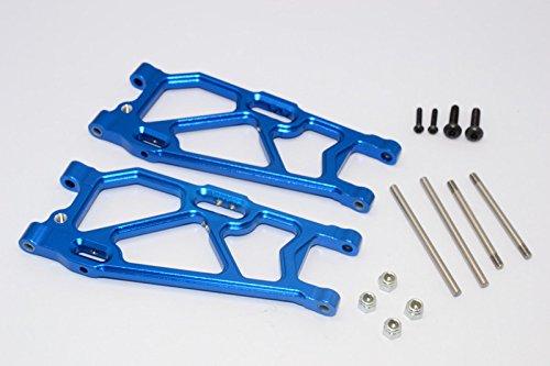 Mini T Aluminum - Team Losi Mini 8ight-T Truggy Upgrade Parts Aluminum Rear Suspension Arm - 1Pr Set Blue