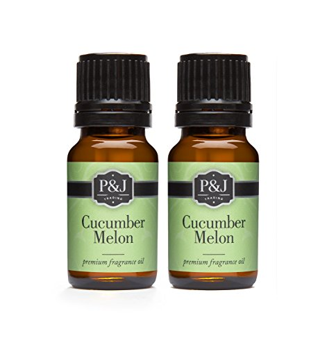Cucumber Melon Fragrance Oil - Premium Grade Scented Oil - 10ml - 2-Pack (Cucumber Perfume Oil)