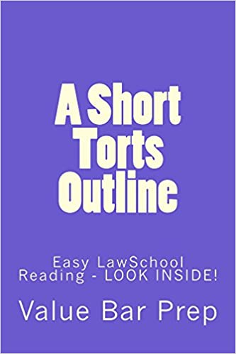 Download A Short Torts Outline: Normalized Partial Reading Allowed PDF, azw (Kindle)