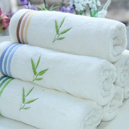 "Grace marca 1-Pack 100% Fibra de Bambú toalla de mano 30 """