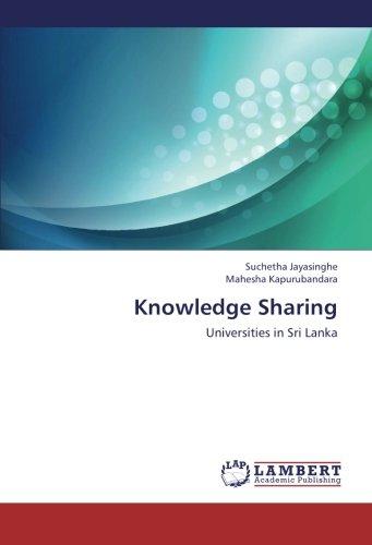 Knowledge Sharing: Universities in Sri Lanka