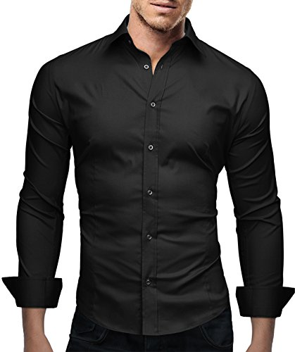dress shirts with black pants - 3